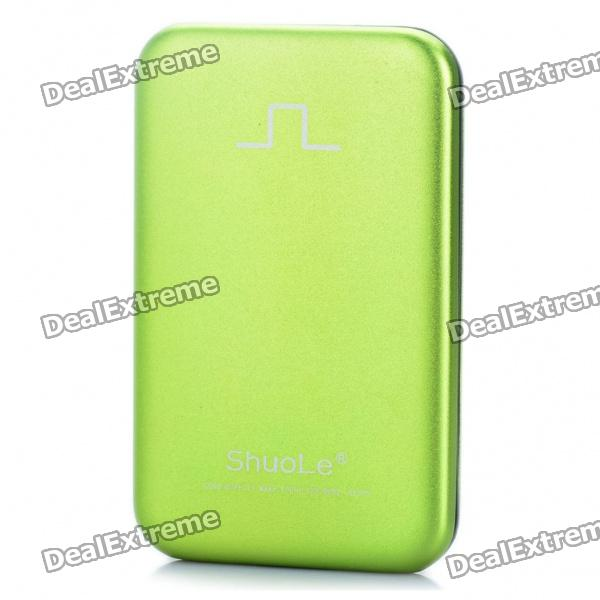 USB 3.0 Hard Disk Drive Enclosure for 2.5 SATA HDD - Green sata usb 3 0 blue orange hdd case with 250g hard disk heating release rubber case 2 5 fast reading speed case