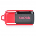 Genuine SanDisk Cruzer Switch USB Flash Drive - Red + Black (16GB)