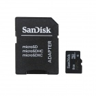 Genuine SanDisk Micro SDHC TF Card with SD Adapter (8GB)