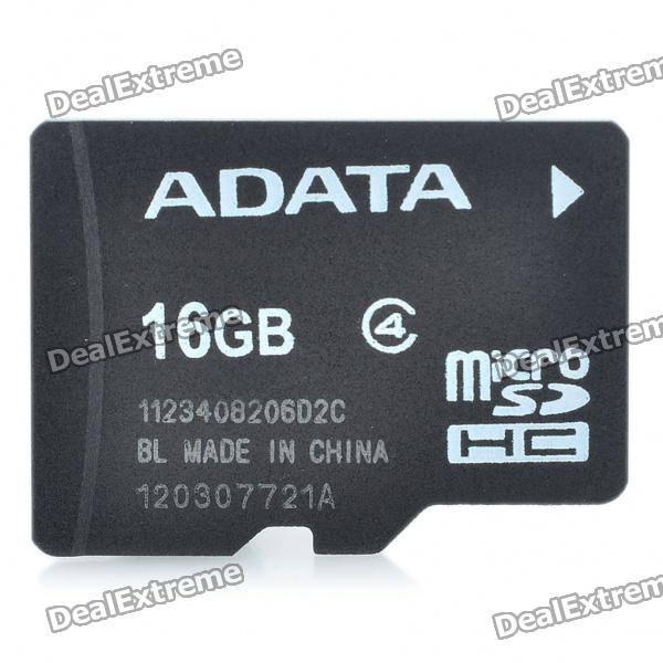 Genuine ADATA Micro SDHC Class 4 TF Card (16GB)