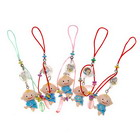Lovely Boy Cell Phone Strap with LED Activity Indicator (10-Pack)