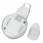 Round Shaped Vegetable & Fruit Slicer Shredder Chopper Kitchen Gadget - White