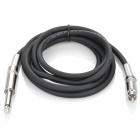 JINSANJIAO RCA Male to 6.35mm Male Audio Connection Cable (130cm)