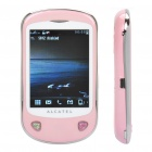 "Alcatel OT-710D Barphone w / 2,8 ""Touch Screen, Single SIM, Quadband und Java - Pink"
