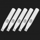 Disposable Plastic 9FT Tattoo Tips Nozzles (5-Piece)