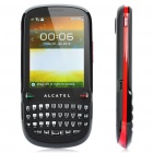 "Alcatel OT-807 QWERTY Barphone w/ 2.8"" Touch Screen, Dualband, FM and Java - Black + Red"