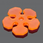 Flower Shaped Silicone Earphone Cable Winders/Organizers - Random Colors (4-Piece Pack)