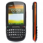 "Alcatel OT-807 QWERTY Barphone w/ 2.8"" Touch Screen, Dualband, FM and Java - Black + Orange"