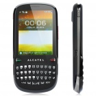 "Alcatel OT-807 QWERTY Barphone w/ 2.8"" Touch Screen, Dualband, FM and Java - Black + Silver"