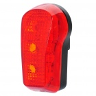Waterproof 3-Mode 3-LED Red Light Bicycle Safety Tail Light w/ Bike Mount (2 x AAA)