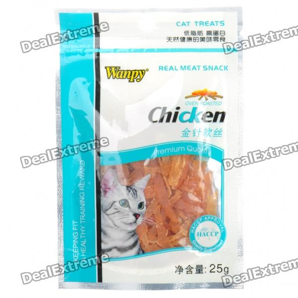 WANPY Chicken Meat Pet Snack for Cat (25g)