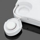 X-Autocollant mode Vibration Portable Speaker - Blanc (2 x AAA)
