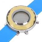Stylish Mirror Display Digital 29-LED Wrist Watch - Blue(1 x 2025)