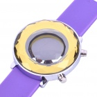 Stylish Mirror Display Digital 29-LED Wrist Watch - Purple(1 x 2025)