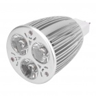 MR16 5.5W 3200K 280LM 3-LED Warm White Light Bulb (DC 11~18V)