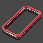 Protective Plastic Bumper Frame for iPhone 4 / 4S - Red