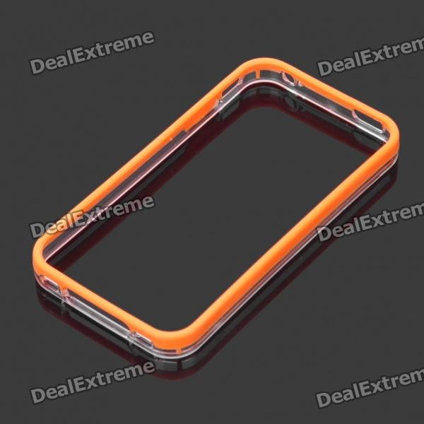 Protective Plastic Bumper Frame for Iphone 4 / 4S - Orange