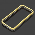 Protective Plastic Bumper Frame for iPhone 4 / 4S - Yellow