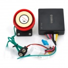 Waterproof Motorcycle Anti-Theft Security Alarm w/ Remote Controller (DC 12V)