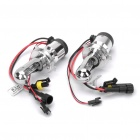 H4-3 35W 6000K 3200-Lumen White Light HID Headlamps w/ Ballasts Set (DC 12V / Pair)
