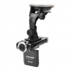 "F2000 5.0MP Wide Angle Car DVR Camcorder w/ 4X Digital Zoom / 8-IR LED / TF / HDMI (2.0"" TFT LCD)"