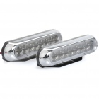 1.2W 16-LED White Light Car Daytime Running Lamps (DC 12V / Pair)