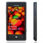 "Samsung I8700 Omnia 7 WCDMA Windows Phone 7 w/ 4.0"" Capactive Screen, GPS, Wi-Fi - Black (8GB)"