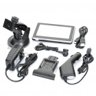 "4,3 ""Touch Screen Win CE 5.0 Portable carro Navegador GPS w / FM - EUA / Canadá Mapa (4GB)"