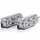 1.68W 21-LED White Light Daytime Running Lamps (DC 12V / Pair)