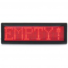 "3.7"" 12 x 48 LED Digital Desktop Display Board"