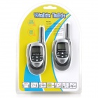 "1.0 ""LCD Walkie Talkie Juguetes Set (par / 3 x AAA)"