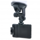 "720P 3MP Wide Angle Car DVR Camcorder w/ 10-LED IR Night Vision/AV-Out/TF - Black (2.5"" LCD)"