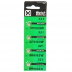 Sony 1.55V SR616SW 321 Cell Batteries Set (4-Pack)