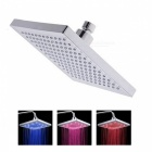 8 inch LED Color Changing Square Showerhead