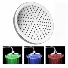 8 inch LED Color Changing Round Showerhead