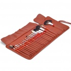 Luxurious 21pcs Cosmetic Make-up Brushes Set