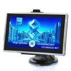 "5,0 ""Touch-Screen-Win CE 6.0 portable GPS Navigator w / FM - USA / Kanada Karte (4GB)"