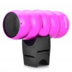 Outdoor Sports Portable Rechargeable MP3 Music Speaker with TF Slot - Deep Pink