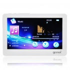 "Gemei HD8800 VE Portable 4.3"" Media Player w/ Voice Recorder / TV-Out / TF Slot - White (4GB)"