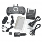 Cool Protective Case + Screen Film + Charger + Game Grip Controller Set for iPhone 4/4S (Set of 15)