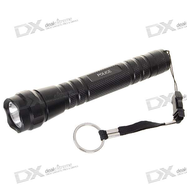 Police 3W LED Flashlight (2xAA)