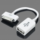 OTG Adapter Cable for Samsung Galaxy Tab P7500 / P7510 / P7300 / P7310 - White (10cm)