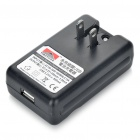 Compact Battery Charger with USB Output for HTC Desire S/G12 / HTC Incredible S/G11 (US/EU Plug)