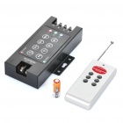 360W 8-Key RGB Control Box w/ Remote Controller for LED Light Strip (DC 12V~24V)