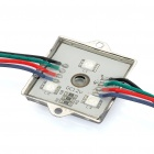 Impermeable 14.4W 780LM 60-5050 SMD RGB LED Light Iron Shell Square Module (DC12V)