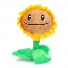 Lovely Plants vs. Zombies Sunflower Doll Toy w/ Suction Cup