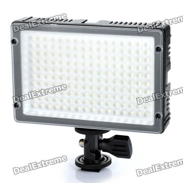 10W 5500K 160-LED White Light Video Lamp for Camera/Camcorder - Black