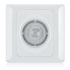 Three-Wire System Wall Mount Automatic IR Motion Sensor Light Switch (100~250V)