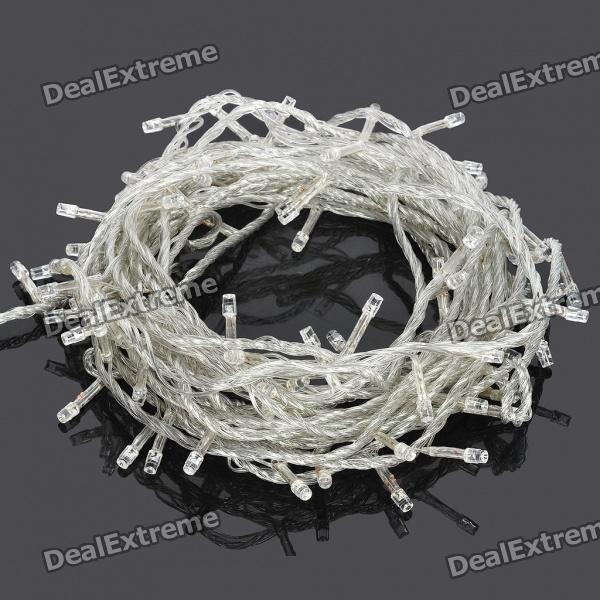 10W 100-LED 8-Mode White Light Christmas Decoration String Lights (10-Meter / 220V)
