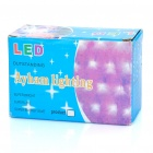 10W 100-LED 8-Mode vit ljus jul dekoration sträng ljus (10-meters / 220V)